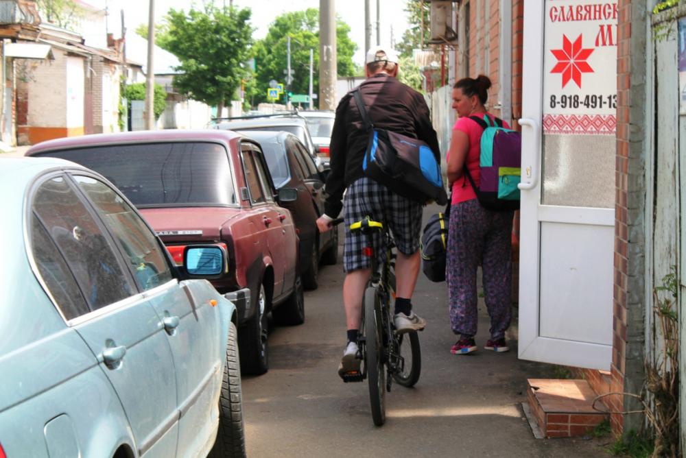 Велодорожки-призраки в Краснодаре: где найти маршрут для велосипеда