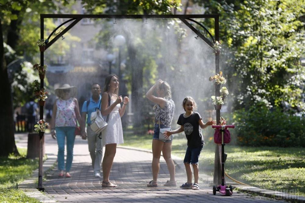 Уличные распылители для воды вызвали интерес у краснодарцев