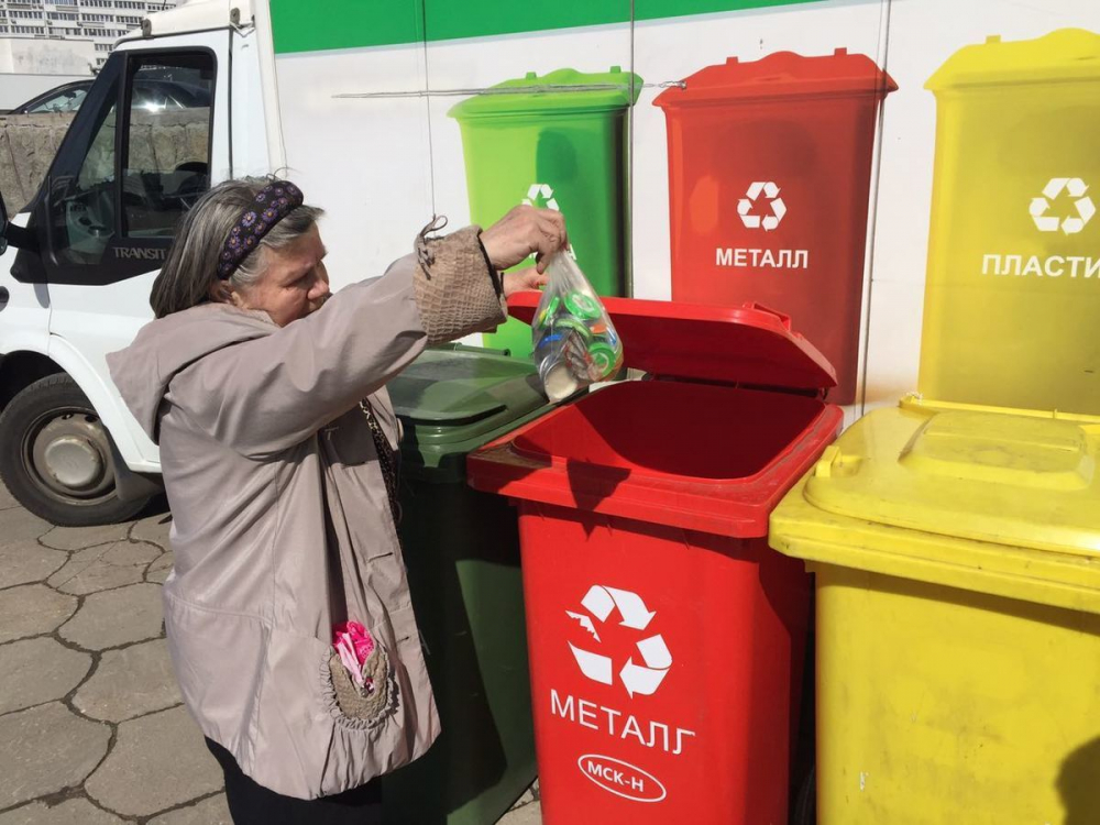 Систему раздельного сбора мусора опробуют на Кубани этим летом