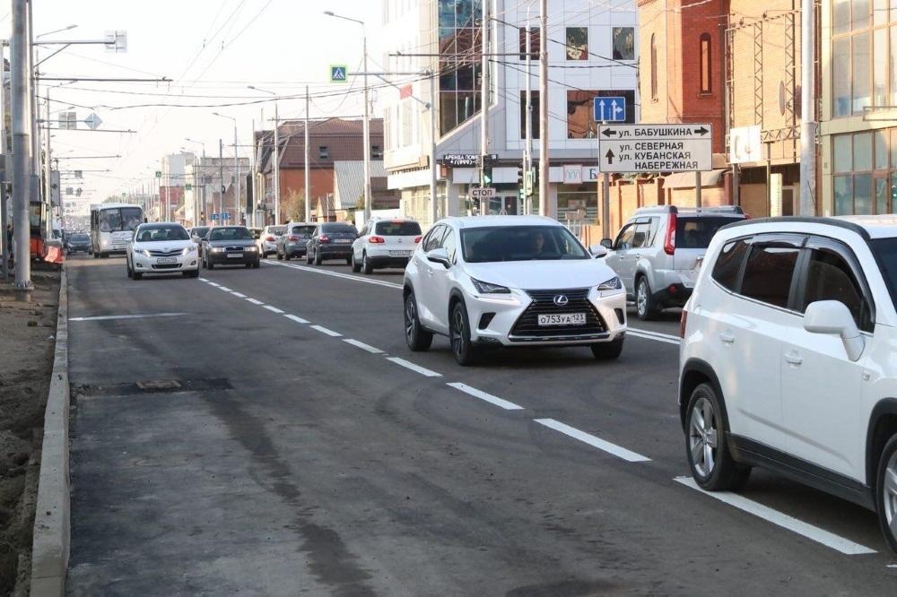 В Краснодаре вновь перекроют два перекрестка с улицей Тургенева