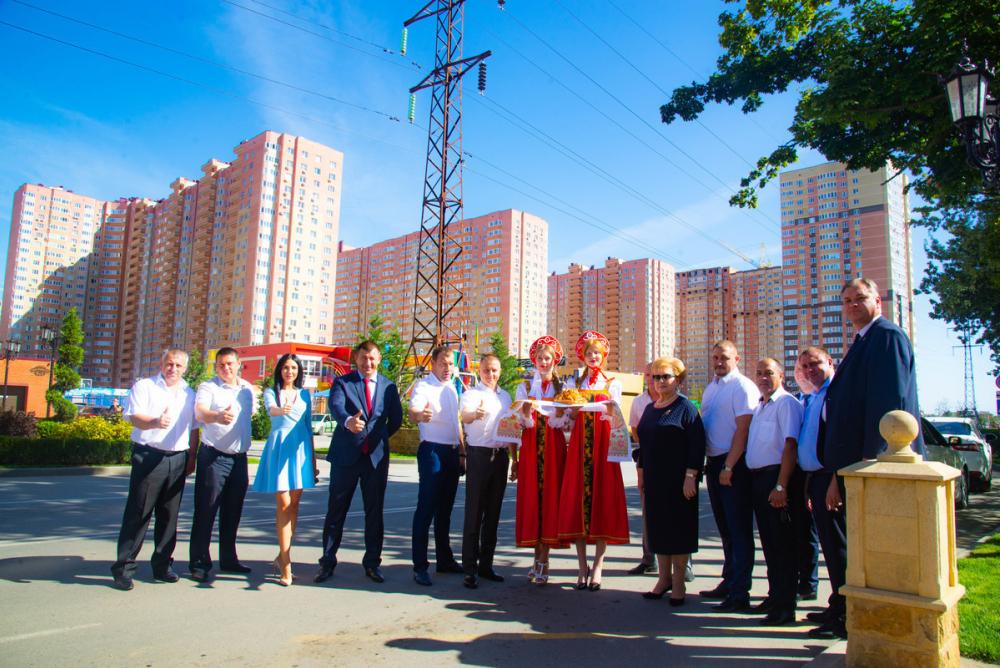 Европейская делегация высоко оценила микрорайон «Губернский» в Краснодаре