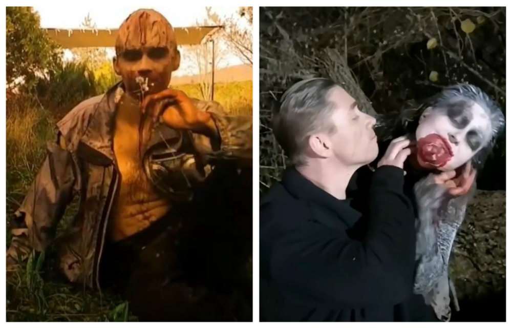 Зомби-кошечка и зомби-романтик поселились на съемках боевика в Краснодаре
