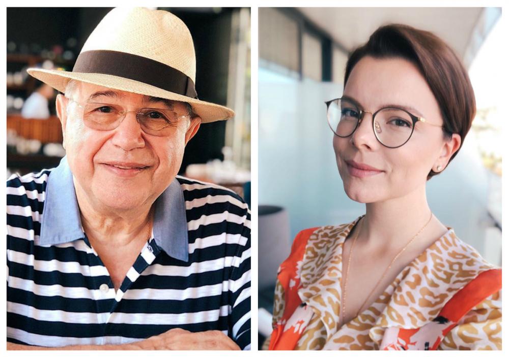 Евгений Петросян впервые показал свою новую подружку на кубанском фестивале