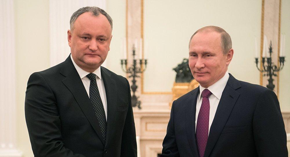Двусторонние отношения планирует обсудить с Путиным на саммите в Сочи президент Молдавии