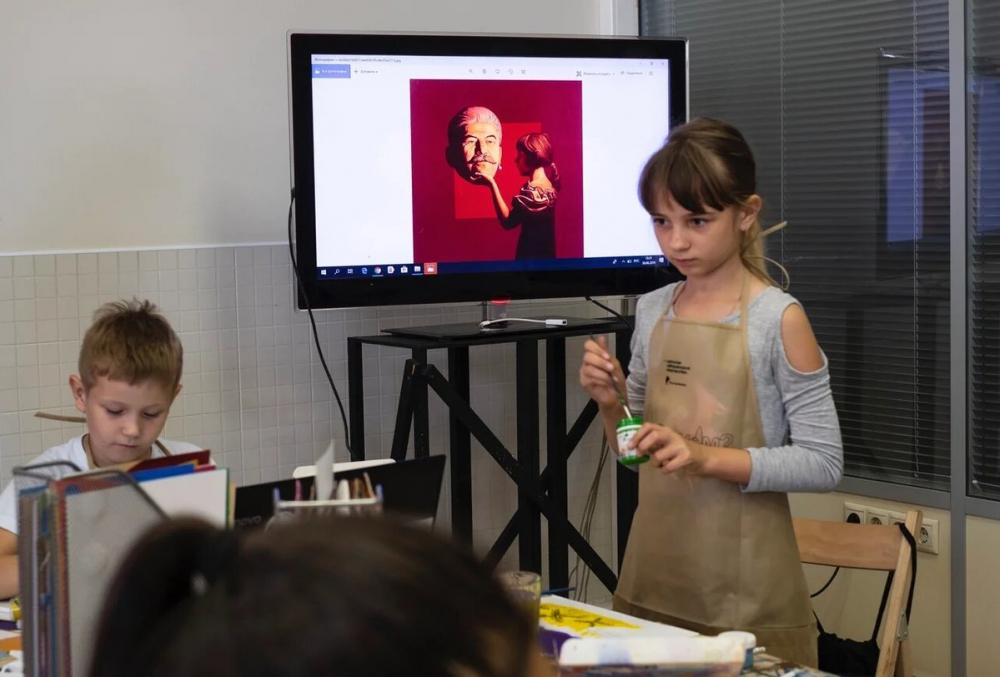«Ростелеком» помог приобщить краснодарских детей к искусству