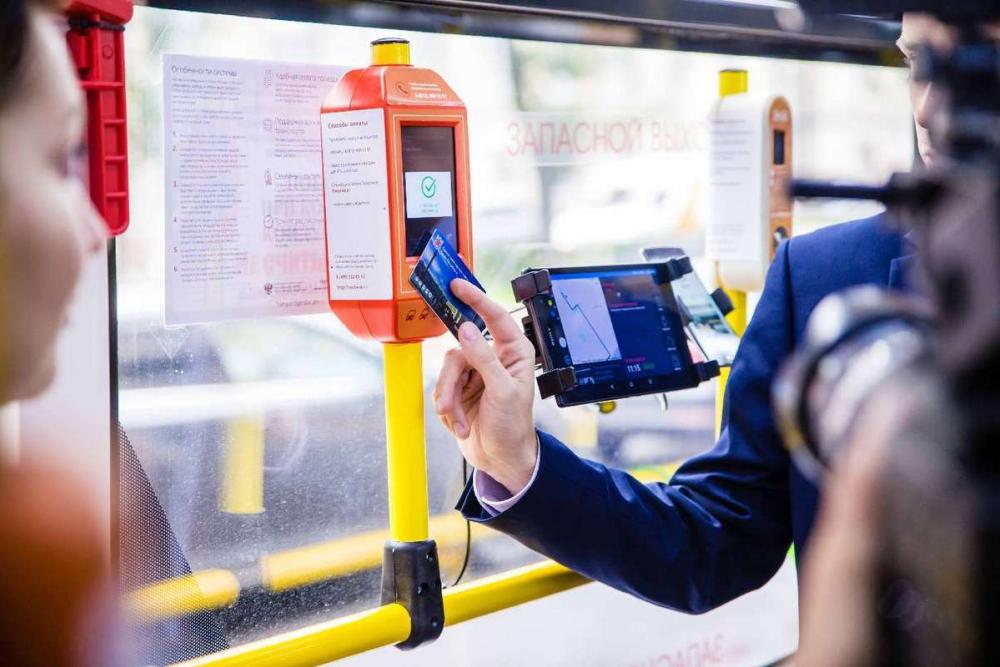 Терминалы для самостоятельной оплаты проезда тестируют в Краснодаре
