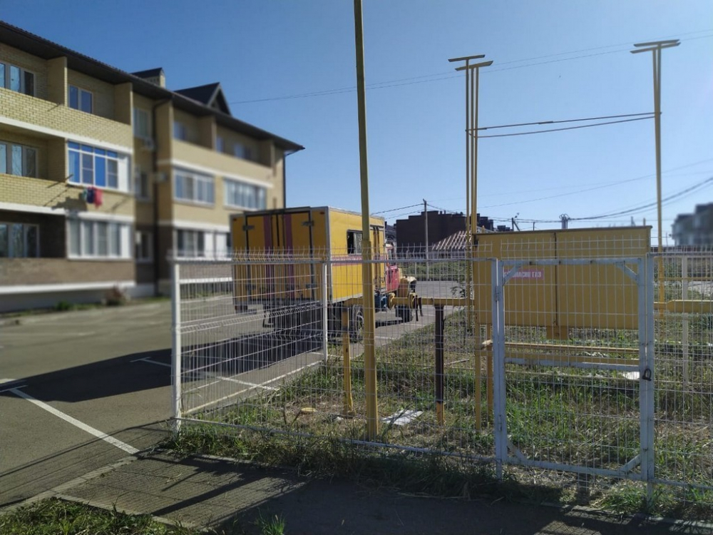 Жителям поселка Российского в Краснодаре вернули газ
