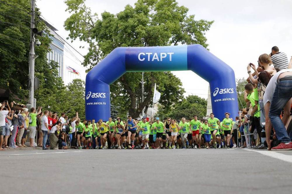 Традиционный забег на 5000 метров пройдет в Краснодаре
