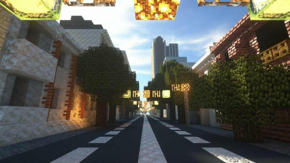 Школьник построил Краснодар в культовой видеоигре Minecraft