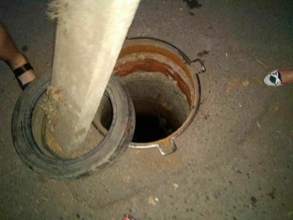 В Краснодаре 2-летний ребенок упал в открытый люк
