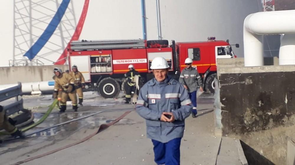 Двое пострадавших при пожаре на нефтебазе скончались в Краснодаре