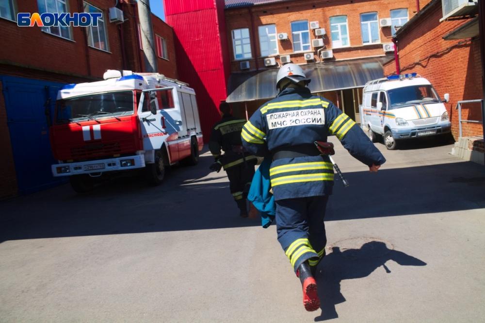 Из-за пожара в Краснодаре эвакуировали жильцов многоэтажки
