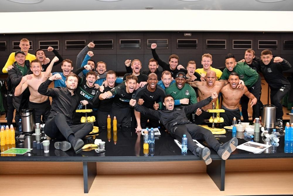 Сулейманов и Вандерсон вывели «Краснодар» на первое место в группе Лиги Европы