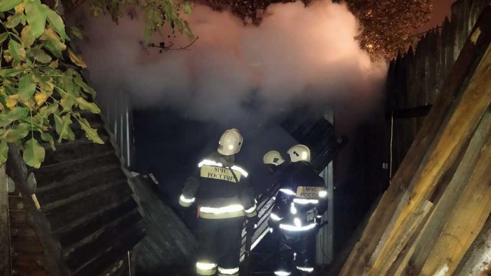 Пожару в поселке Знаменском в Краснодаре присвоили повышенный ранг