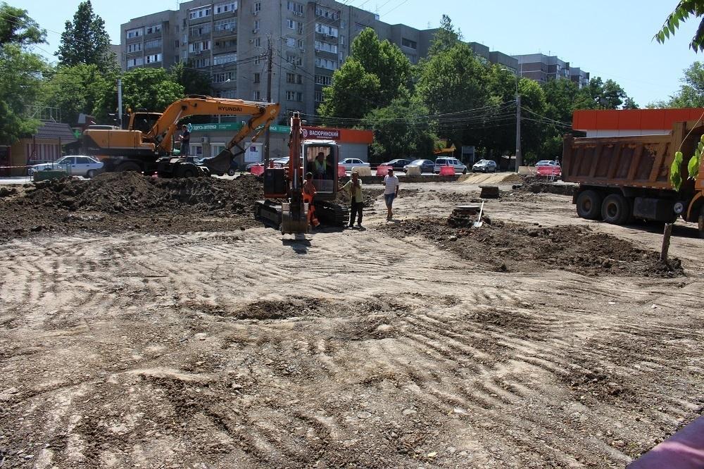 Новое место для парковки и ярмарки создадут в центре Краснодара