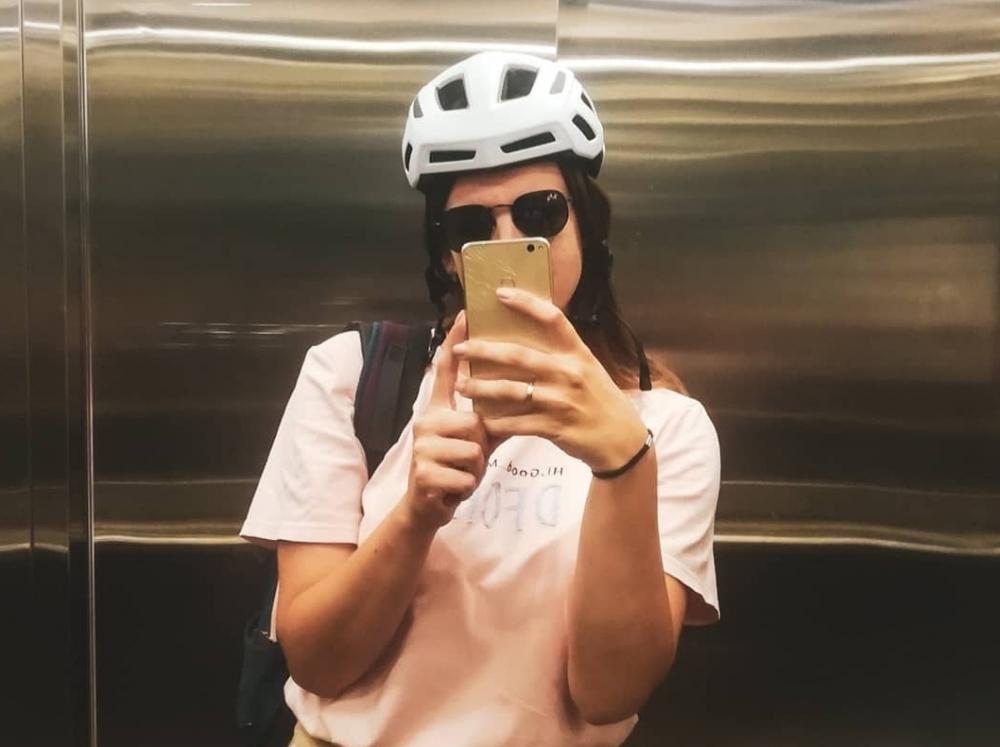 Велосипедистка пожаловалась на краснодарских водителей