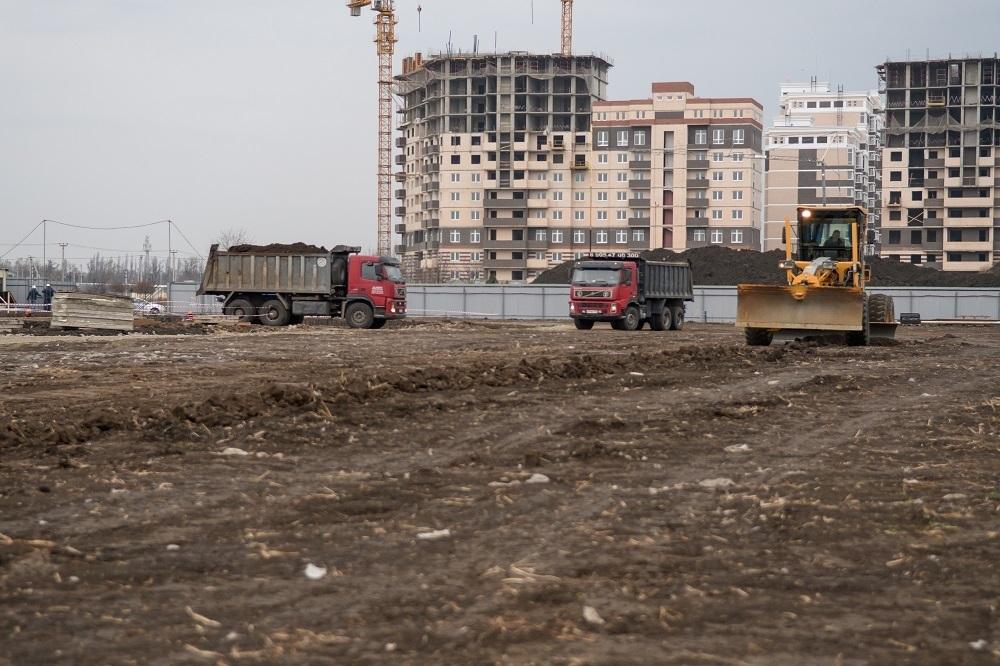 Появились подробности о самой большой строящейся школе Краснодара