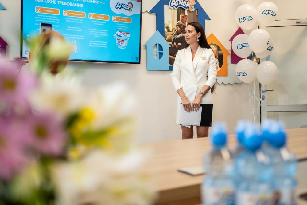 «Агуша» открыла производство творожков на молочном комбинате в Тимашевске