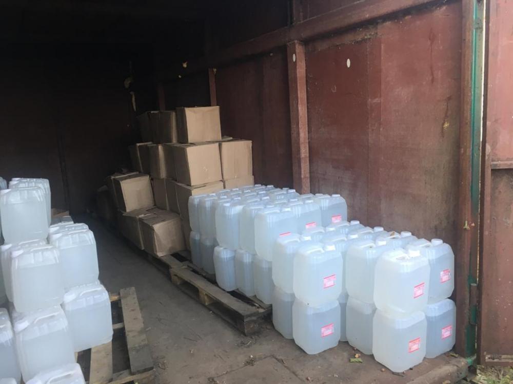 На Кубани изъяли две тонны поддельной алкогольной продукции