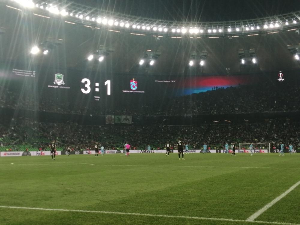 «Краснодар» во второй раз обыграл «Трабзонспор»