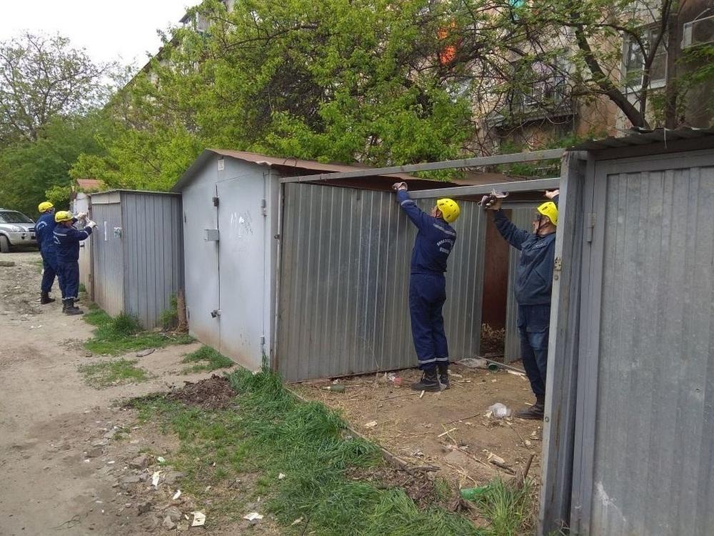 Около сотни частных гаражей снесут в Краснодаре