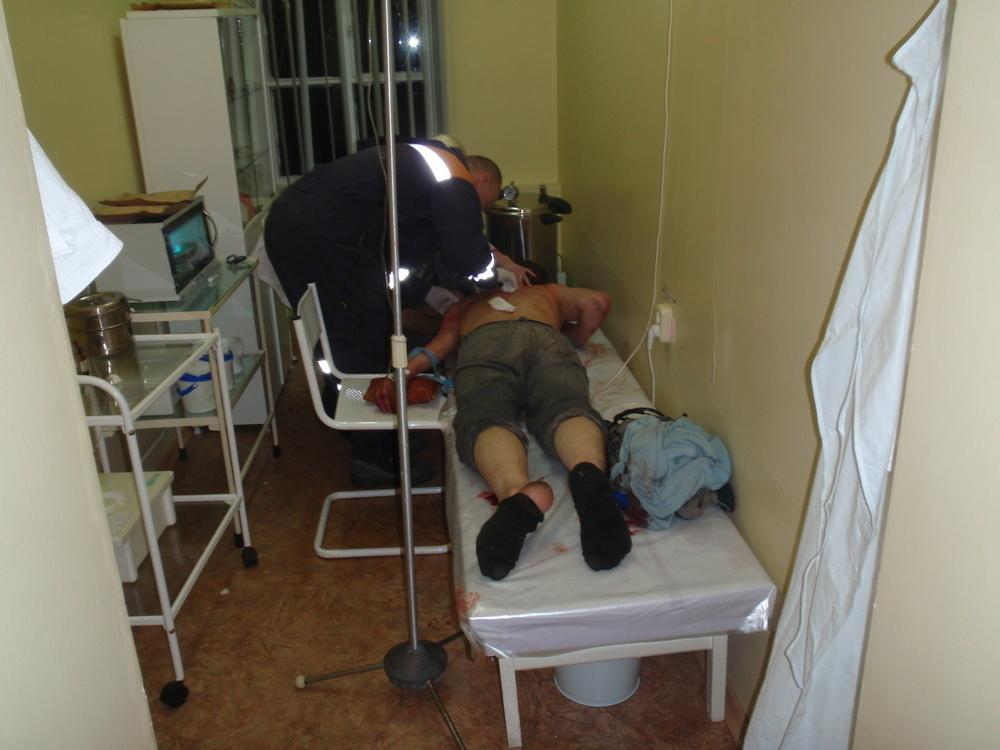 Пьяный житель Динского района хотел убить своего друга
