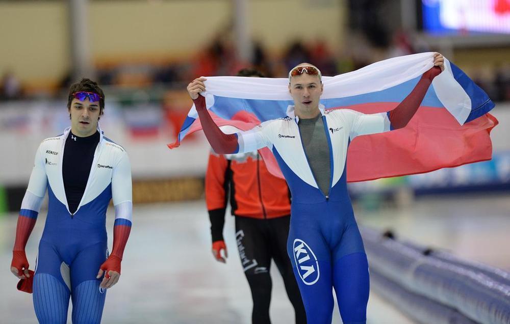 Сочинский конькобежец Кулижников завоевал золото на Чемпионате Европы