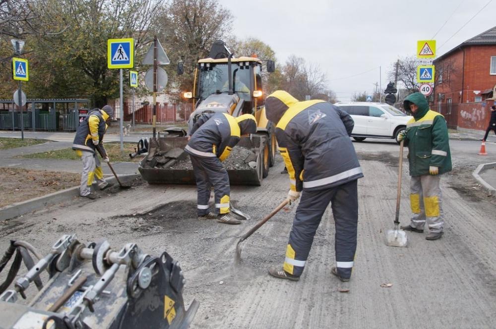 Ремонт улицы имени Энгельса начали в Краснодаре