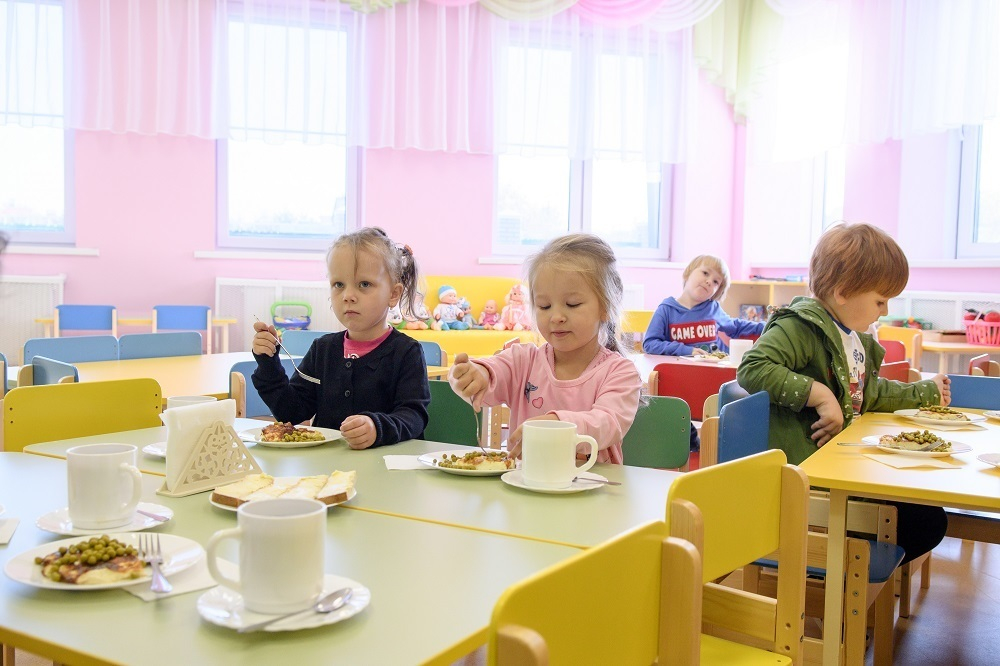 В поселке Индустриальном Краснодара открыли новый детсад