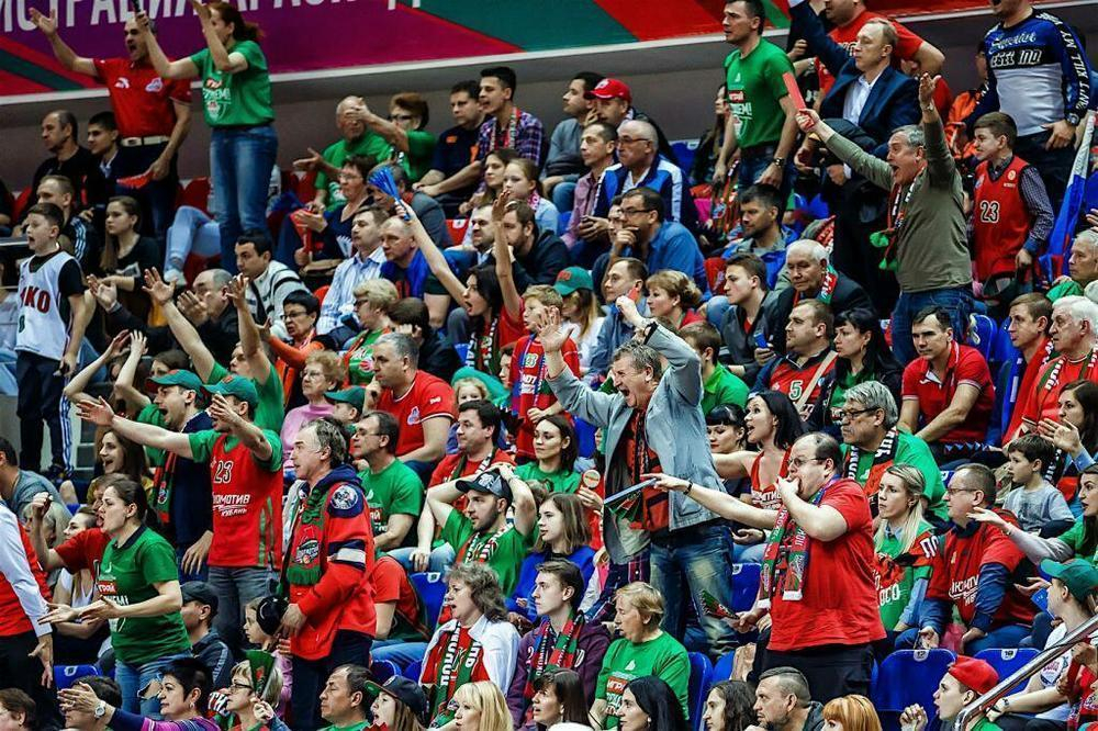 На баскетбольный матч «Локомотива-Кубань» и «Барселоны» проданы все билеты