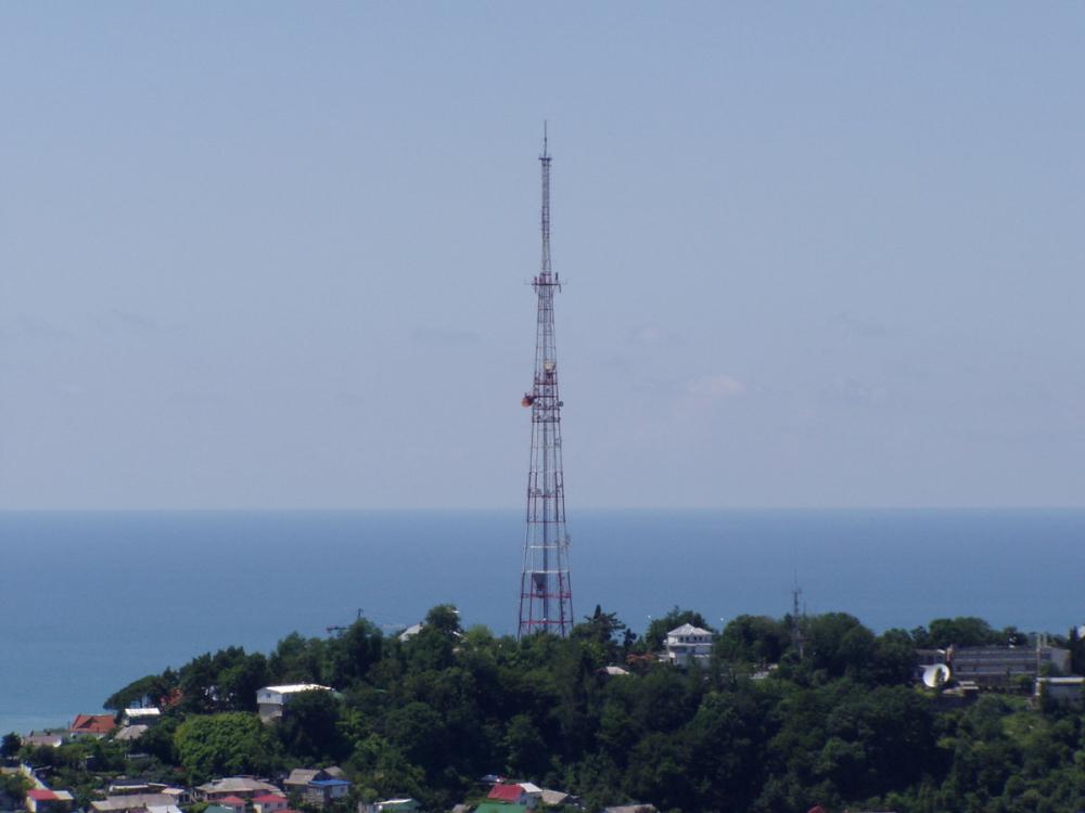 Телевидение в Сочи отключили на 10 дней