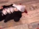 Последствия кровавой перестрелки в Армавире, в которой погиб офицер Росгвардии, сняли на видео