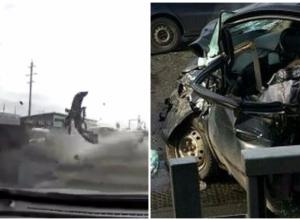 Пассажирка «Хендай Гетс» скончалась на месте страшной аварии в Краснодаре