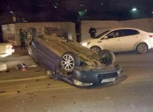 «Чуть не угробил малыша!»: в Краснодаре «неадекват» врезался в «десятку» и перевернул свое авто