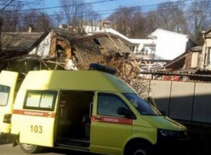 От взрыва газового баллона в Сочи пострадал хозяин дома