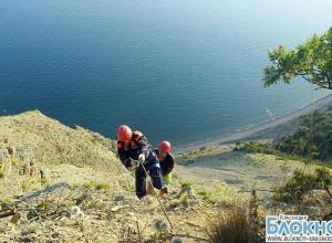 В Краснодарском  крае турист застрял на высоте более 200 метров