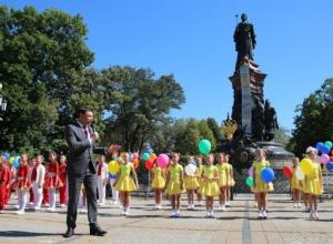 Наш любимый Краснодар ждет безоблачное будущее, - мэр на церемонии открытия праздника