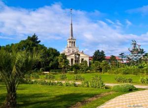 Новый парк на 14 гектарах откроют в Сочи