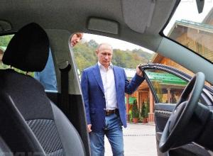 «Кортеж» Владимира Путина могут купить жители Краснодарского края