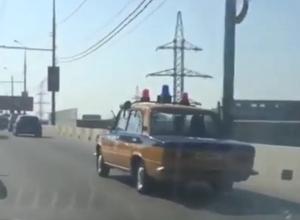 «Советская милиция» катается по Краснодару