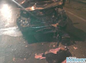В Краснодаре в ДТП пострадало два человека