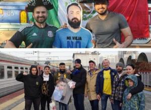 По стопам мексиканских болельщиков: ростовчане привезли картонную фигуру друга на матч с «Краснодаром»