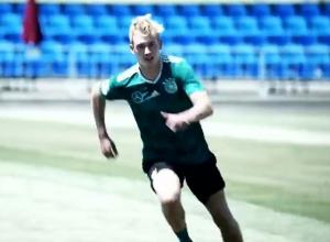 Опубликовано видео тренировки сборной Германии в Сочи