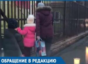 «Люди тонут в грязи!» - краснодарцы пожаловались на отсутствие дороги к детскому саду