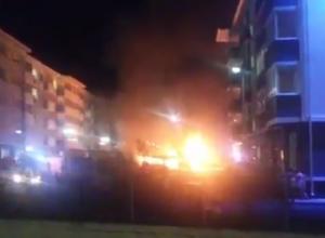 В Сочи сгорел прокат электрокаров
