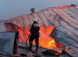 На пожаре в сочинском многоквартирном доме погиб один человек
