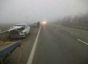В Краснодаре из-за тумана увеличилось число жертв аварий