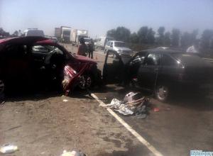 В аварии на трассе «Краснодар-Новороссийск» пострадали дети
