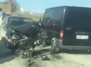 Под Новороссийском произошли сразу две аварии в одном и том же месте