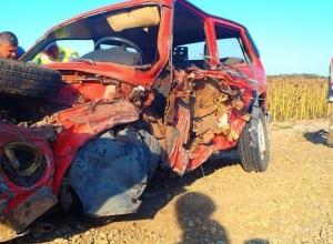 Под Анапой в ДТП лоб в лоб погиб один человек